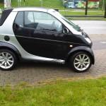 Unfall smart 42 Cabrio