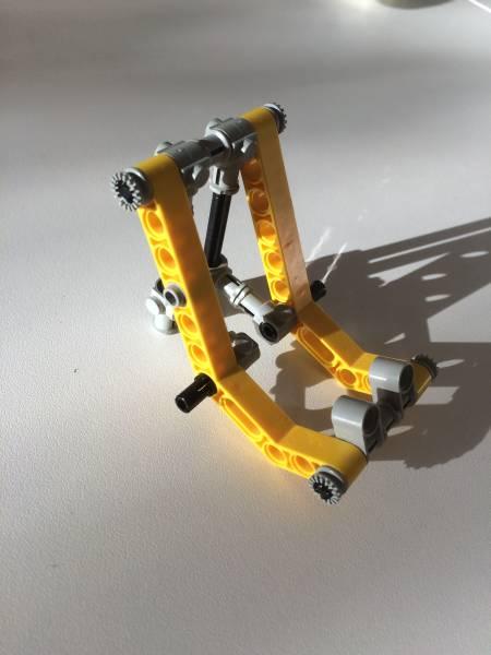Foto Smartphone Halter aus LEGO 3