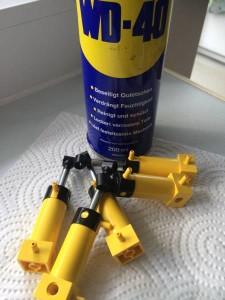 Lego Phneumatikteile pflegen, reinigen