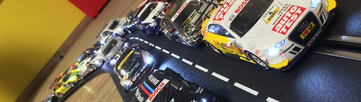 Lese was zu Slotcar Racing