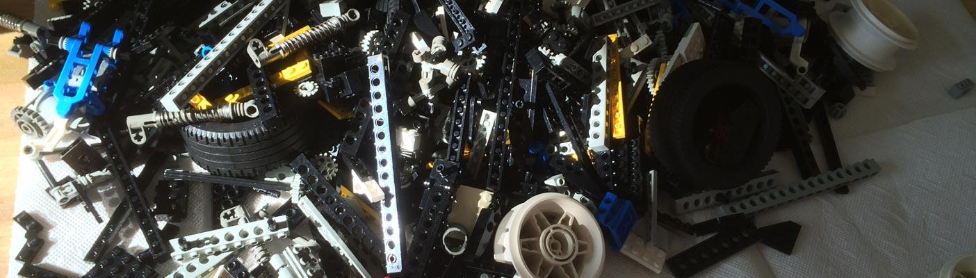 Lego Technikhaufen
