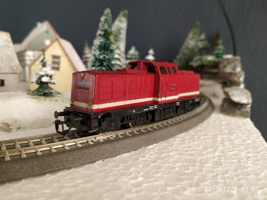 TT / BTTB Eisenbahn BR110 Diesellok