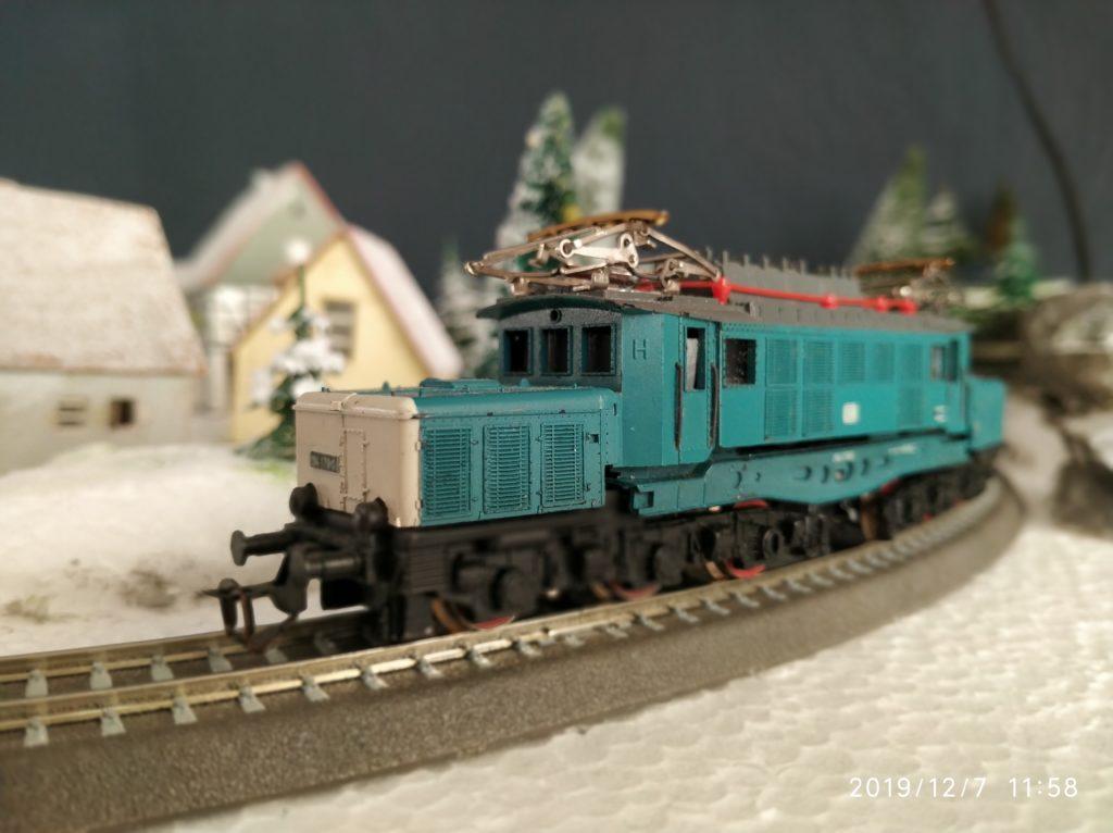 TT / BTTB Eisenbahn E94 178-0 schwere Güterzuglokomotive