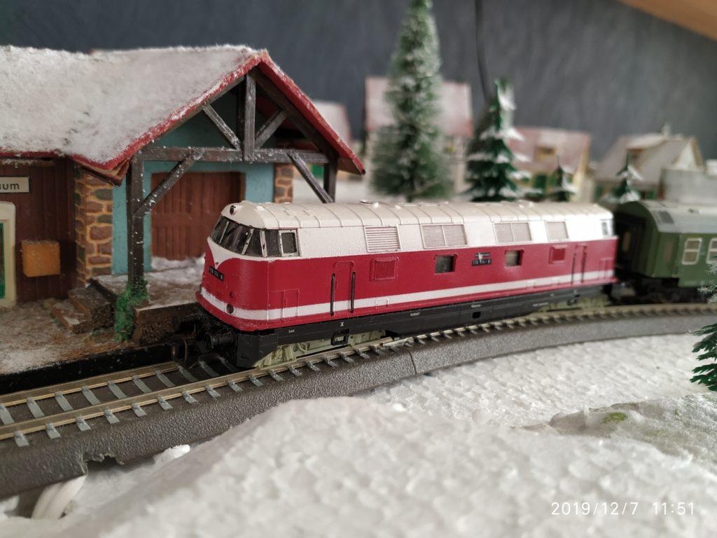 TT / BTTB Eisenbahn V118 114-8 Diesellok