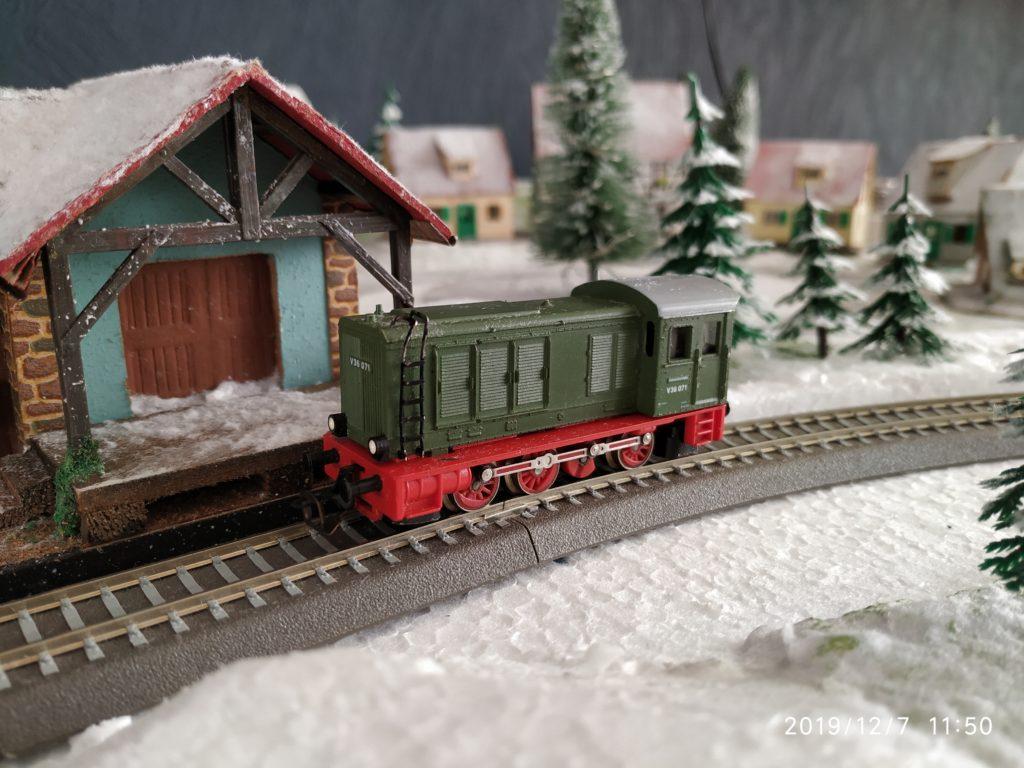 TT / BTTB Eisenbahn V36 071 Diesellok/Rangierlok