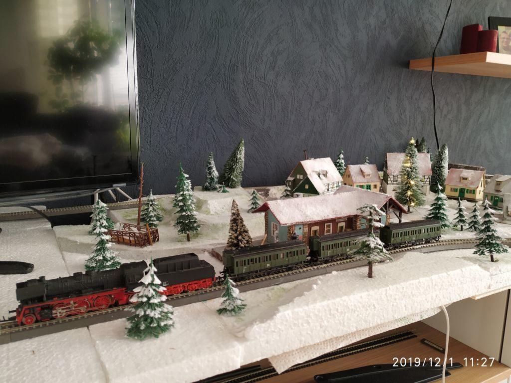 TT Eisenbahn Winterlandschaft fertig 1