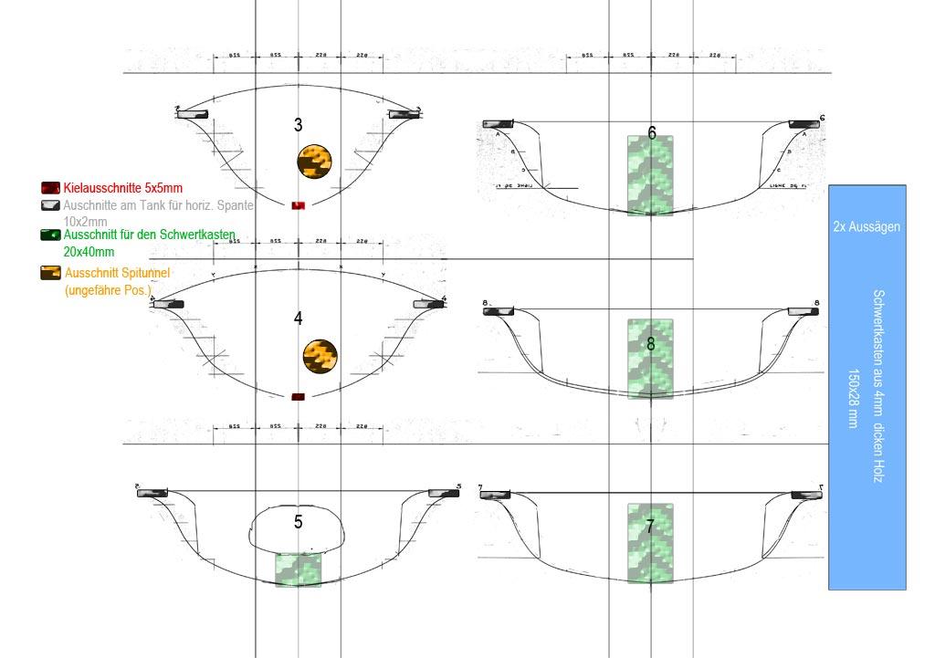 Bauplan für 505er Standmodell 1:12
