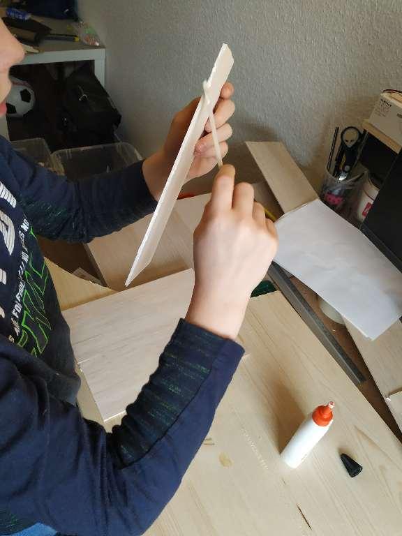 Crackerbox Boot Bauen 3