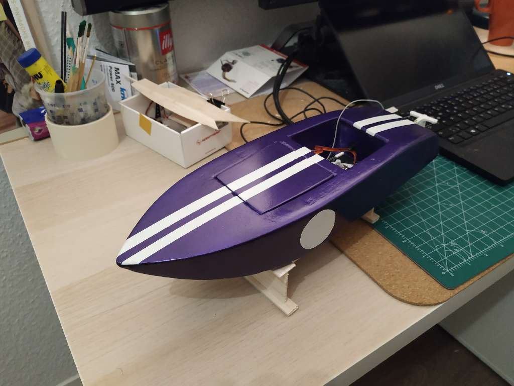 Crackerbox Rc Boat 32