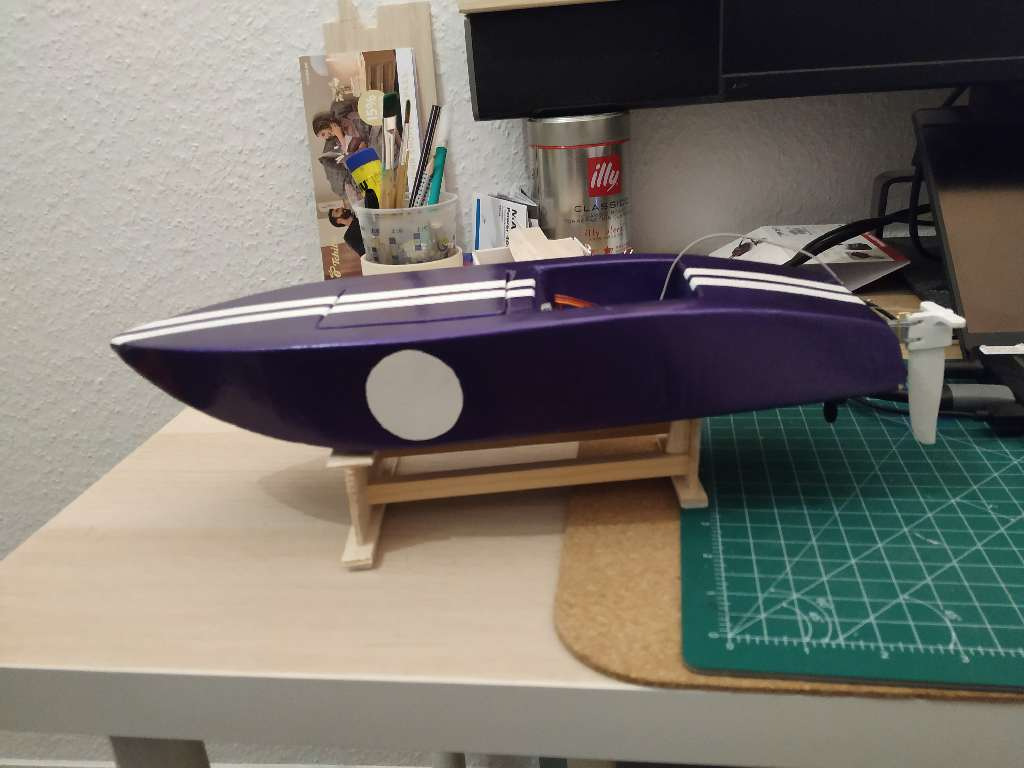 Crackerbox Rc Boat 33