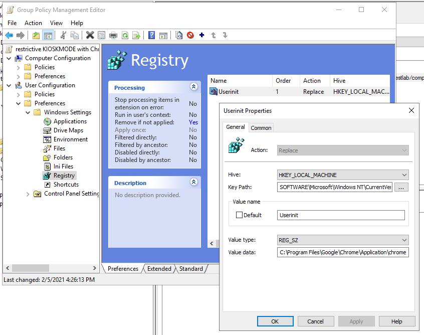 Gpo Kioskmode Restriktiv Chrome 1 1