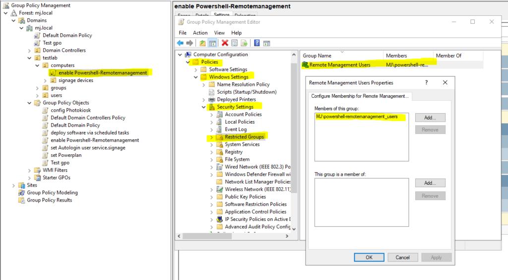 Gpo Powershell Remotemanagement 3